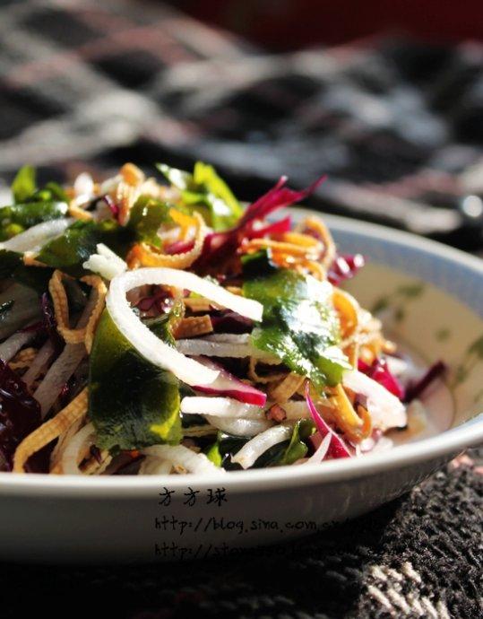 凉拌什锦菜的做法_【图解】凉拌什锦菜怎么做好吃_方