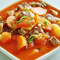 西红柿土豆炖牛腩的做法<!-- 图解7 -->