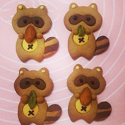 萌萌哒小动物饼干