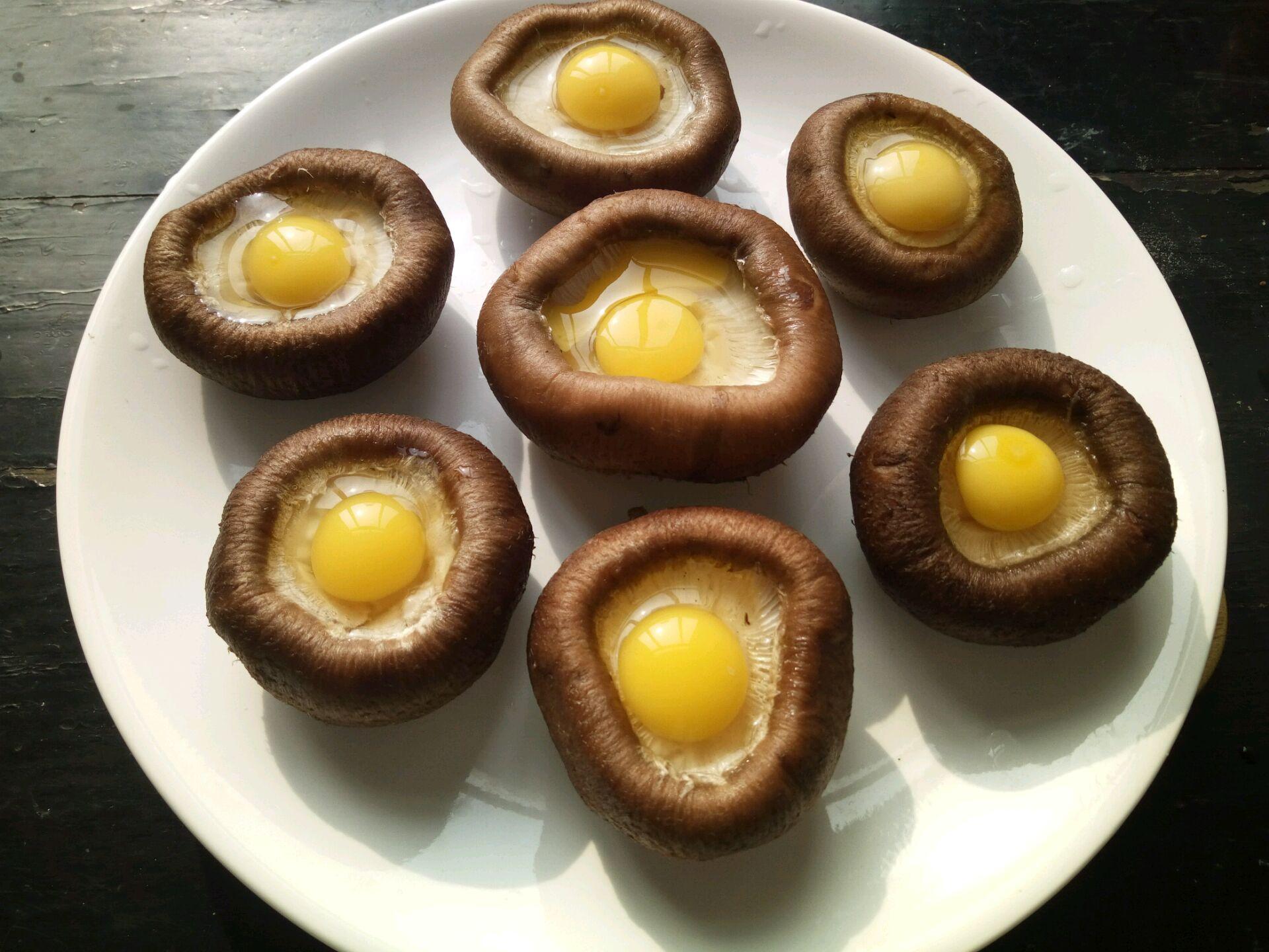 蒸香菇鸡胸蛋嫩见做法肉鹌鹑图片