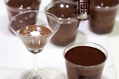 香浓巧克力慕斯杯