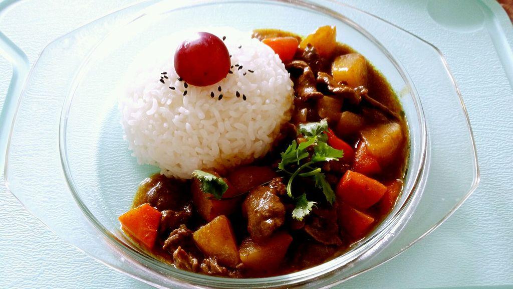 家常咖喱牛肉饭