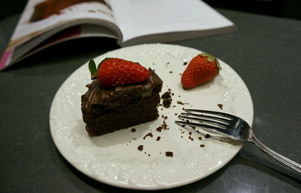 黑巧克力蛋糕的做法_【图解】黑巧克力蛋糕怎么做