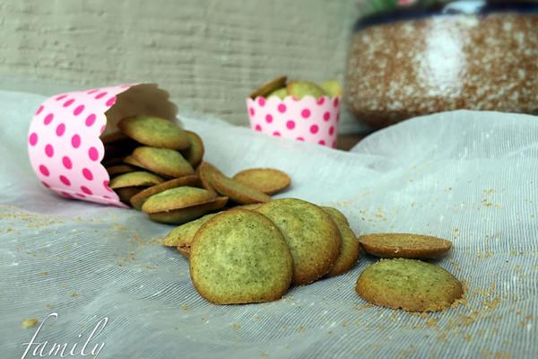 抹茶小饼#春天中的一抹绿#的做法