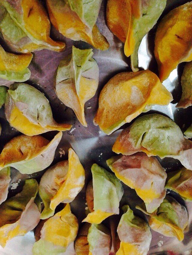 彩色水饺的做法图解7
