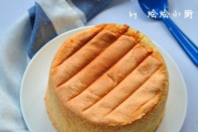 空气炸锅做法式海绵蛋糕