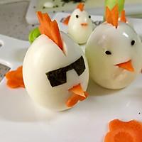 儿童早餐—快乐的小鸡一家的做法图解7