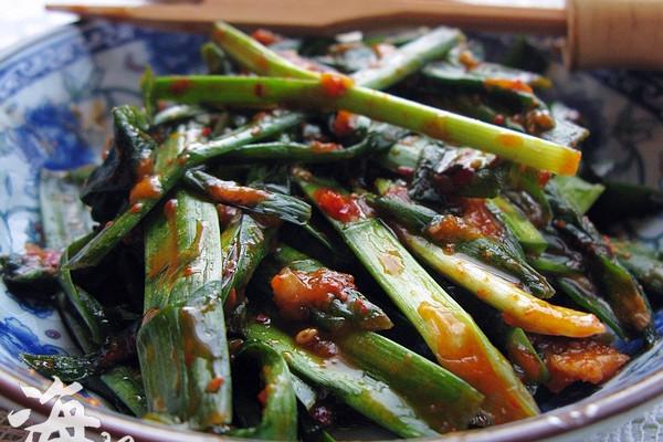 春天的养生小菜--朝式拌韭菜的做法