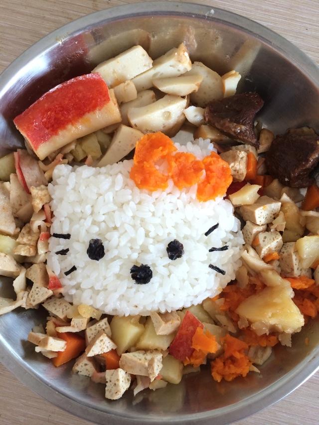 kitty猫宝宝饭