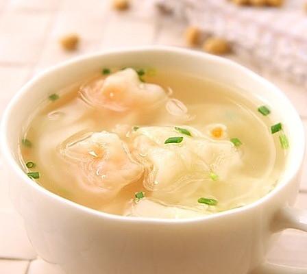宝宝食谱:虾仁小馄饨图片