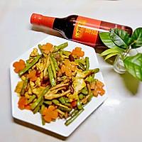 酱香蟹味菇四季豆