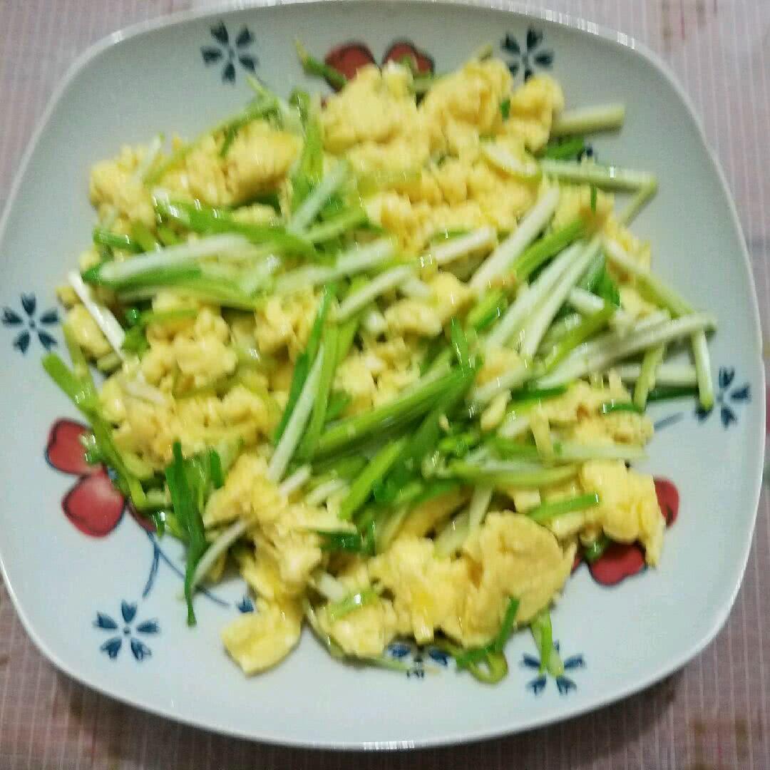 韭黄炒蛋的做法_【图解】韭黄炒蛋怎么做如何做好吃