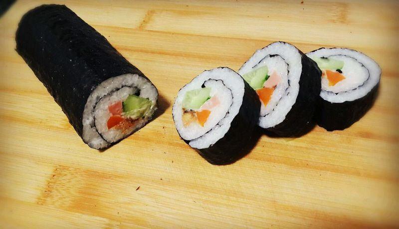 虾仁寿司的做法_【图解】虾仁寿司怎么做如何做好吃