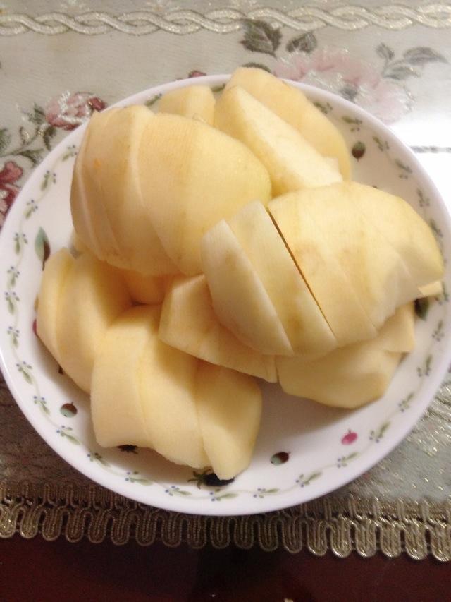 木瓜苹果饮的做法_【图解】木瓜苹果饮怎么做如何做