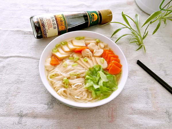 豉油汤面条