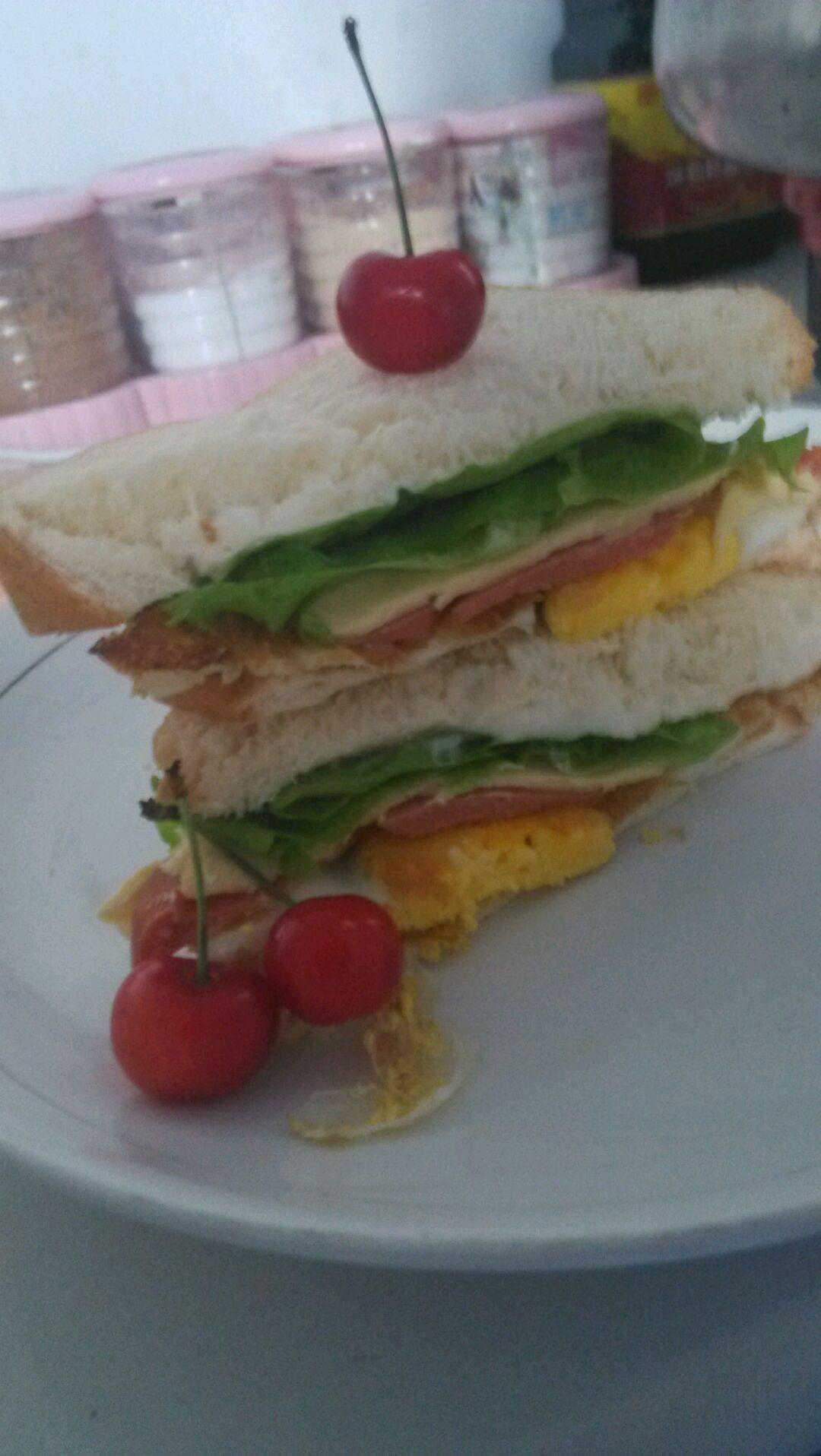 早餐三明治的做法_【图解】早餐三明治怎么做如何做