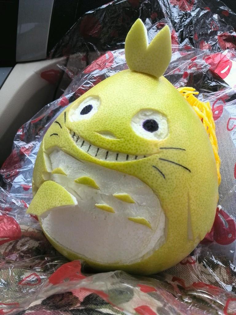 柚子卡通人物系列
