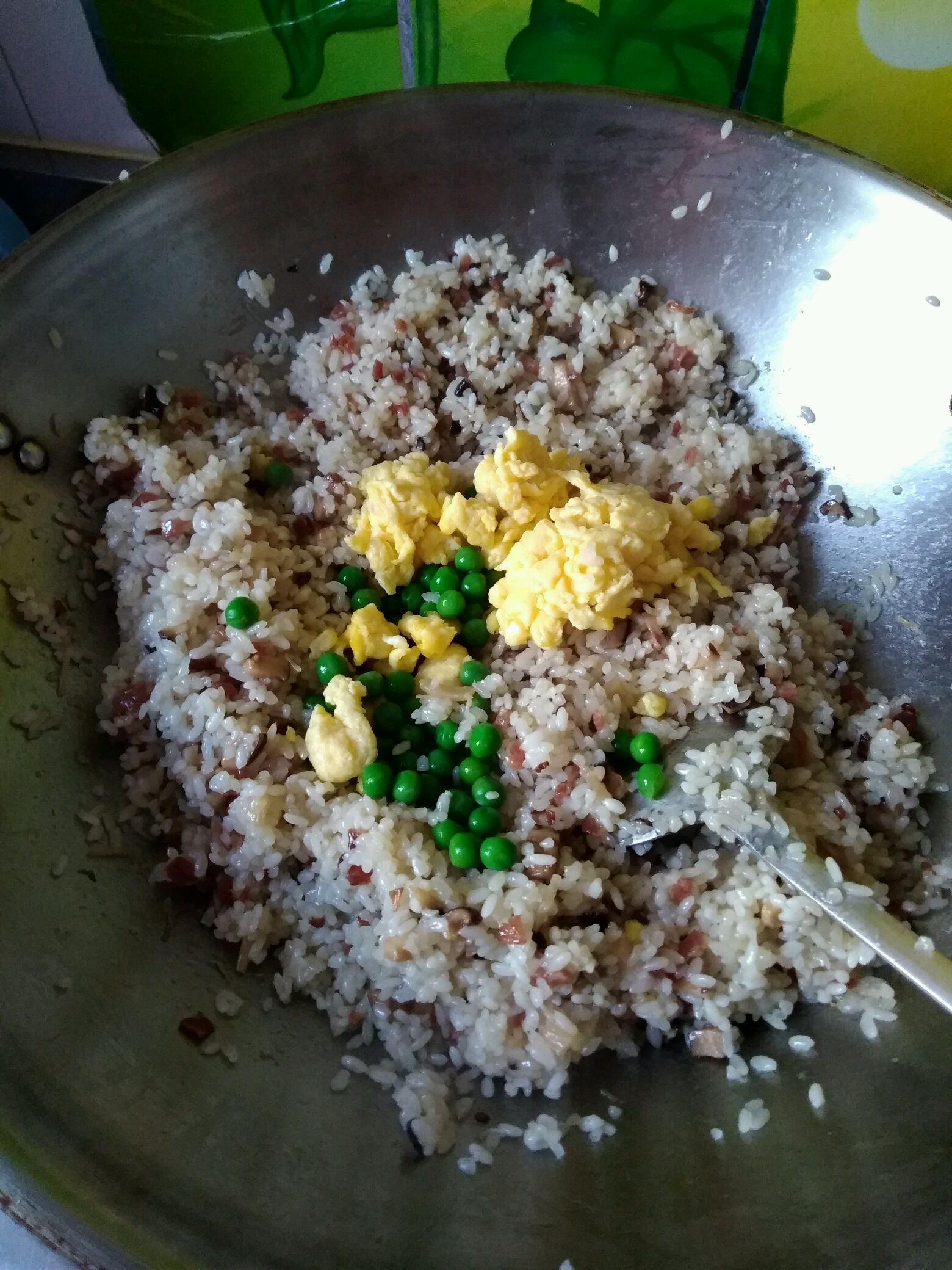 五彩糯米饭的做法图解8