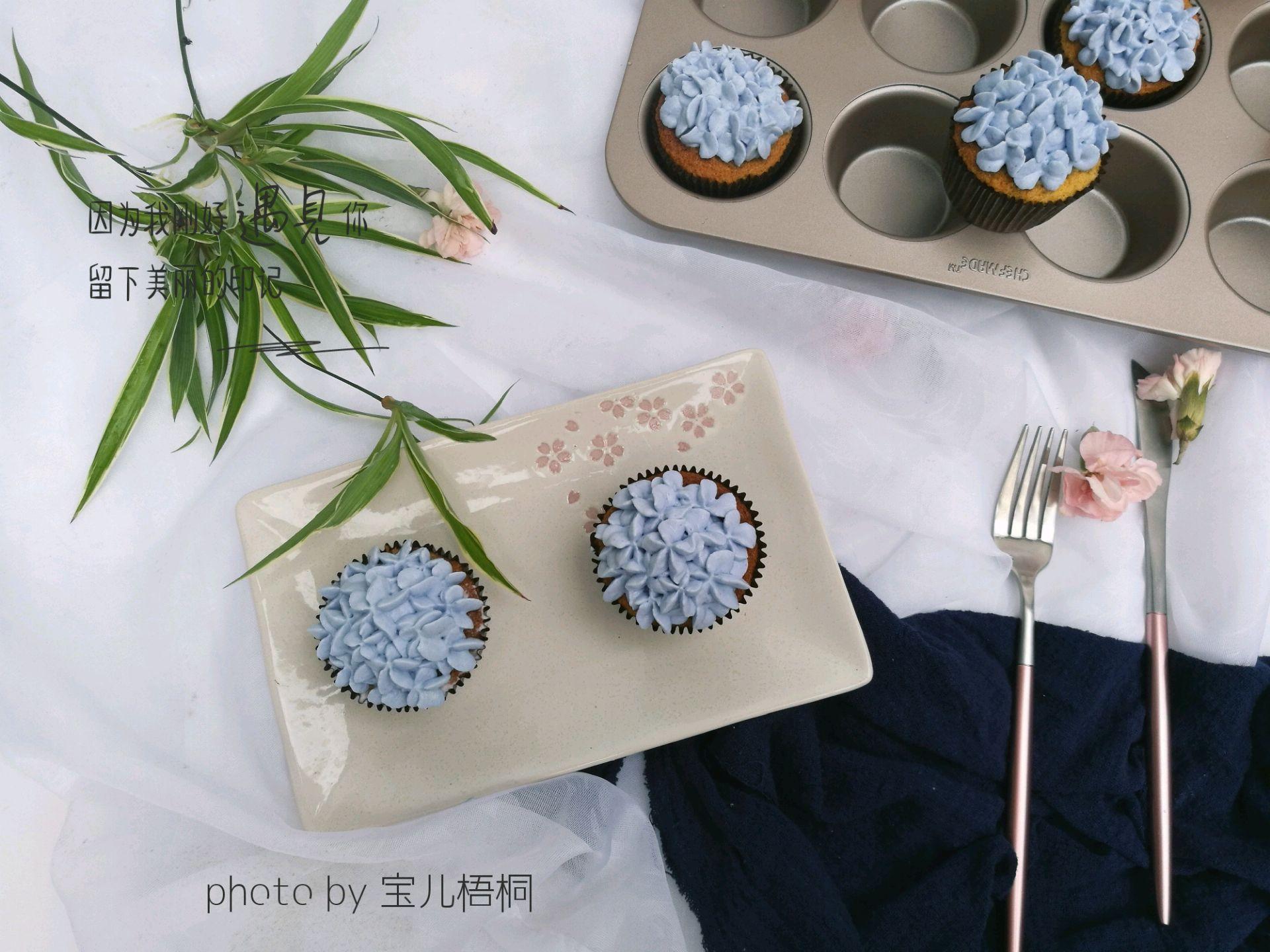绣球杯子蛋糕的做法_【图解】绣球杯子蛋糕怎么做如何