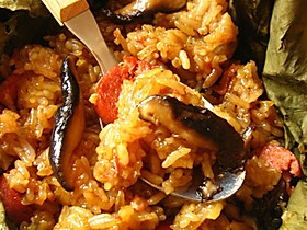 荷香糯米饭