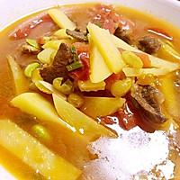 西藏牦牛肉炖土豆