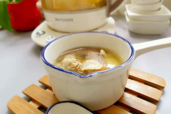 西洋参养心汤的做法