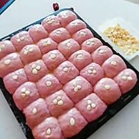 杏仁红枣紫薯包