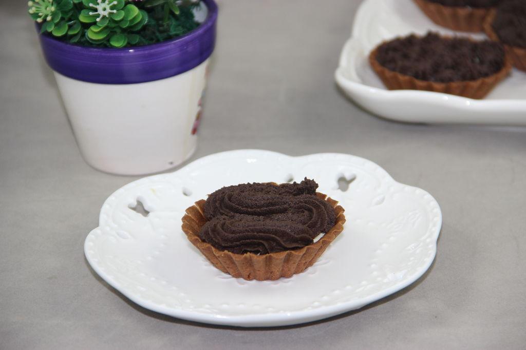 巧克力芝士挞的做法_【图解】巧克力芝士挞怎么做
