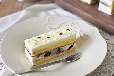 蓝莓芝士慕斯蛋糕(视频菜谱)