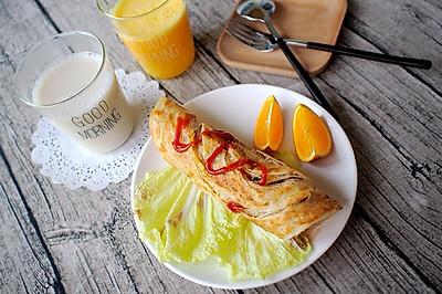 手抓饼---五分钟快手早餐So easy!
