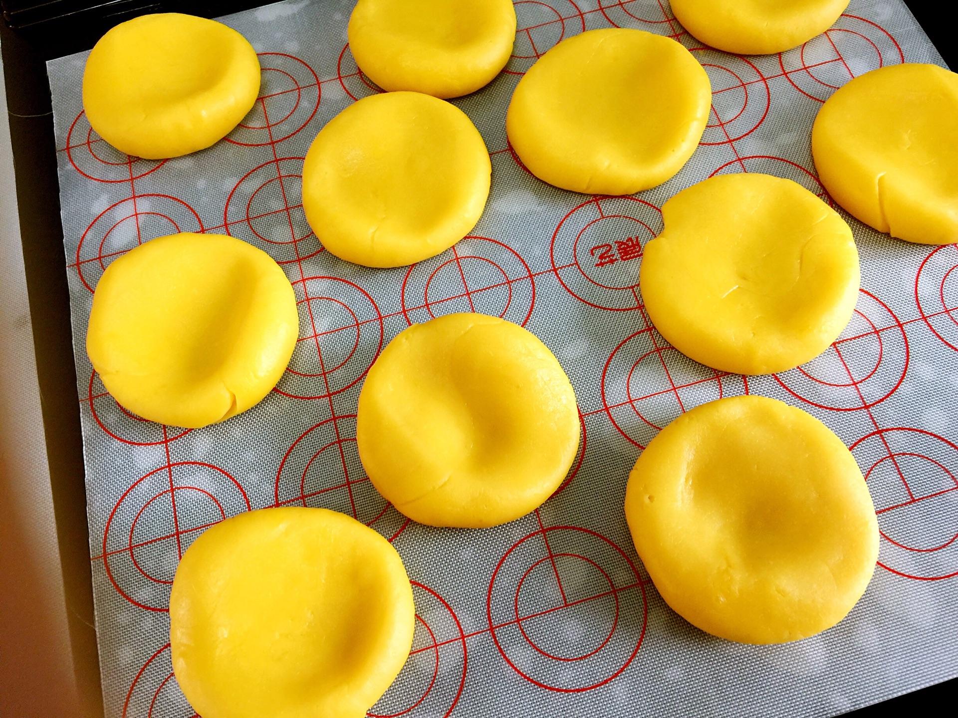 南瓜冰皮月饼~花好月圆的做法图解16