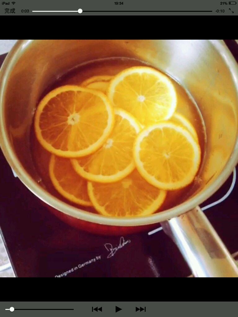 香橙橙子蛋糕卷的做法步骤