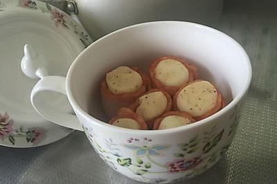 培根土豆泥卷(烤箱版)