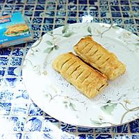 可以拉丝儿的红豆派+#百吉福食尚达人#