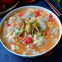 番茄鸡蛋疙瘩汤#柏翠辅食节-辅食添加#