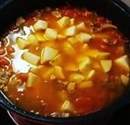 西红柿土豆炖牛腩的做法<!-- 图解5 -->