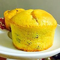南瓜红枣杯子蛋糕