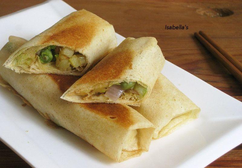 蔬菜煎饼卷的做法_【图解】蔬菜煎饼卷怎么做如何做