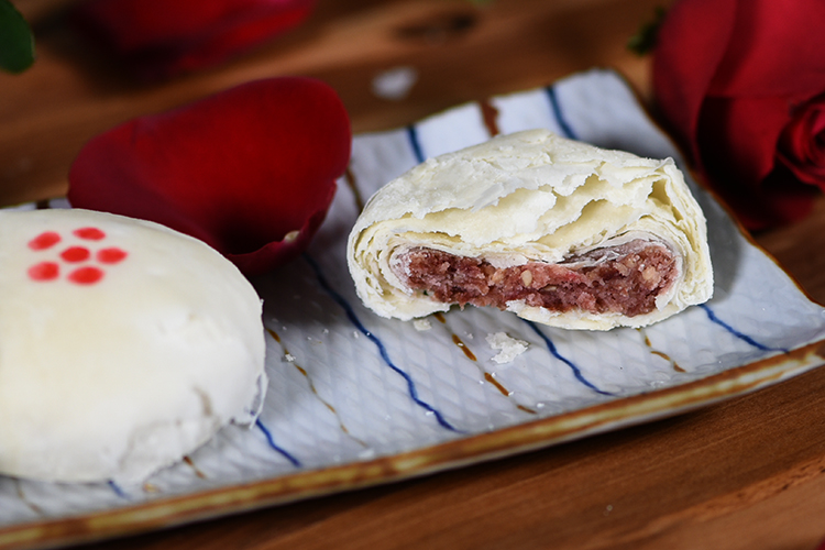 德普烤箱食谱—玫瑰花饼 的做法图解10