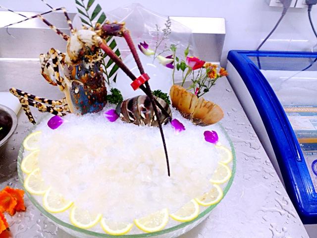 刺身冰雕图片_龙虾刺身图片展示_龙虾刺身相关图片下载
