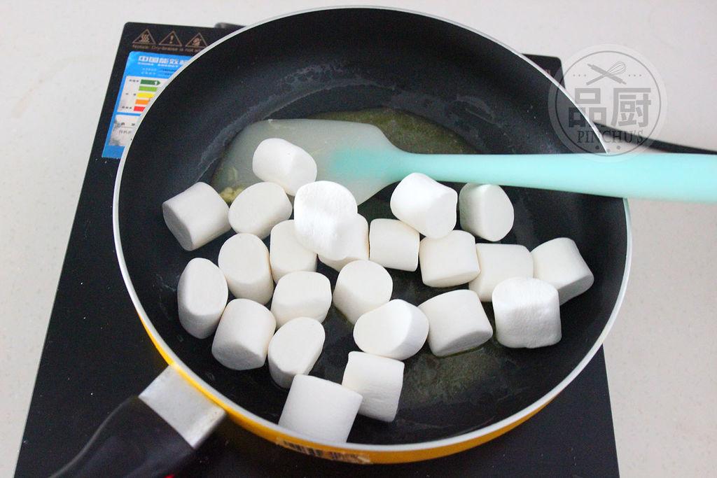 蔓越莓牛轧糖的做法步骤