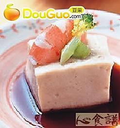 汁淋胡麻芥末豆腐的做法