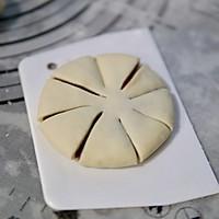 豆沙花朵包的做法图解9
