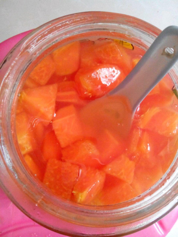 木瓜糖水的做法
