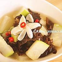 春季汤菜 百合木耳炖冬瓜