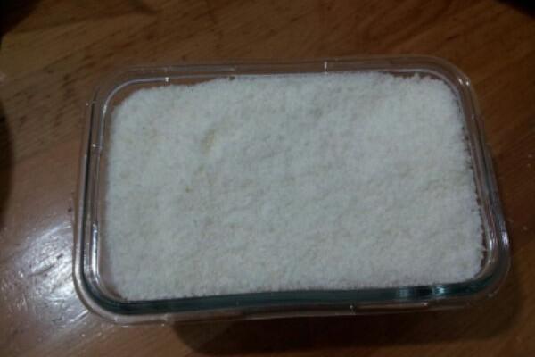 椰香紫米糕的做法