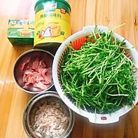 芽菜浓汤的做法图解1