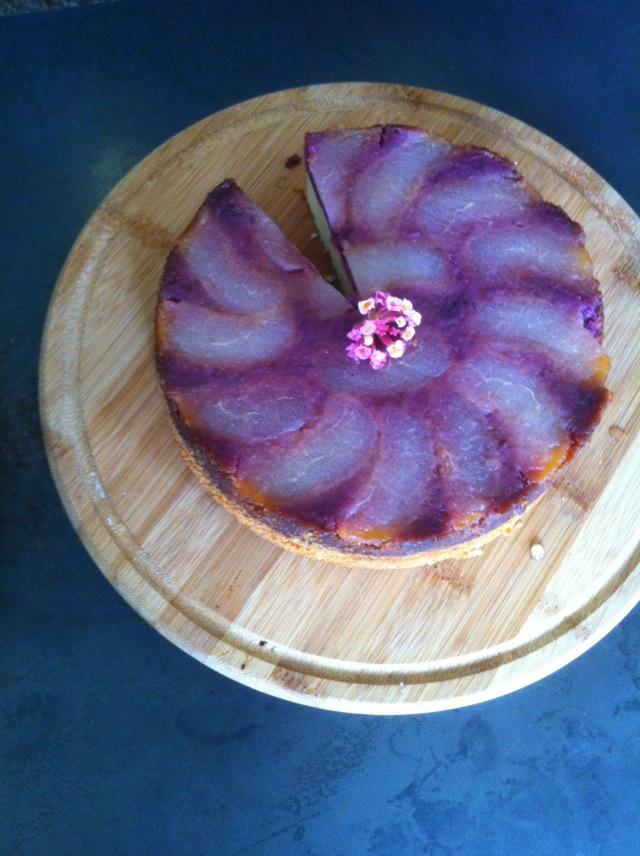 桃子蛋糕的做法步骤