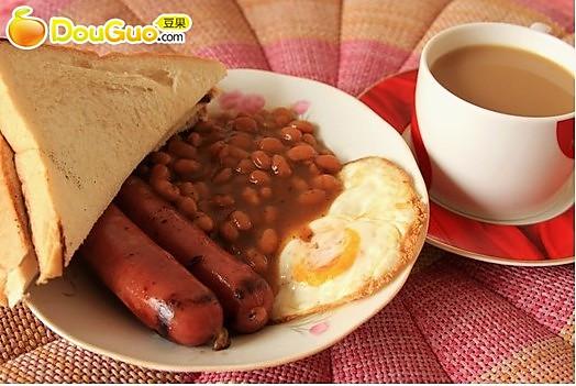 简易版英式早餐