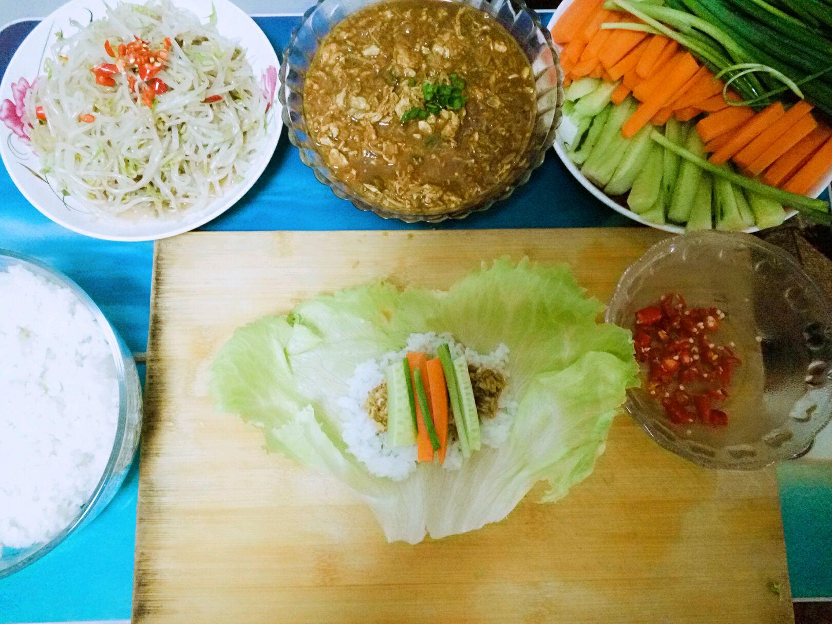 """东北料理""""菜包饭""""#单挑夏天#的做法_【图解】东北料理"""